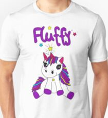 Unicorn fluffy Unisex T-Shirt