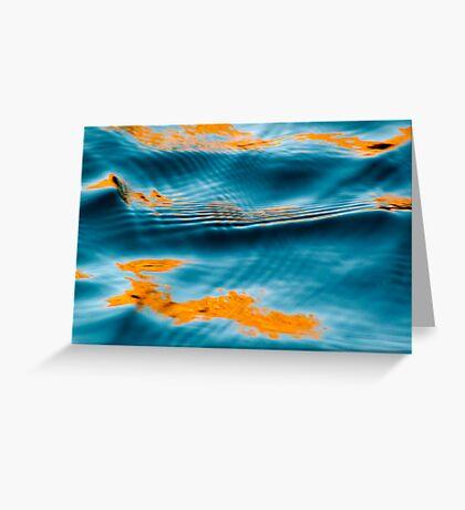 Seductive water Greeting Card