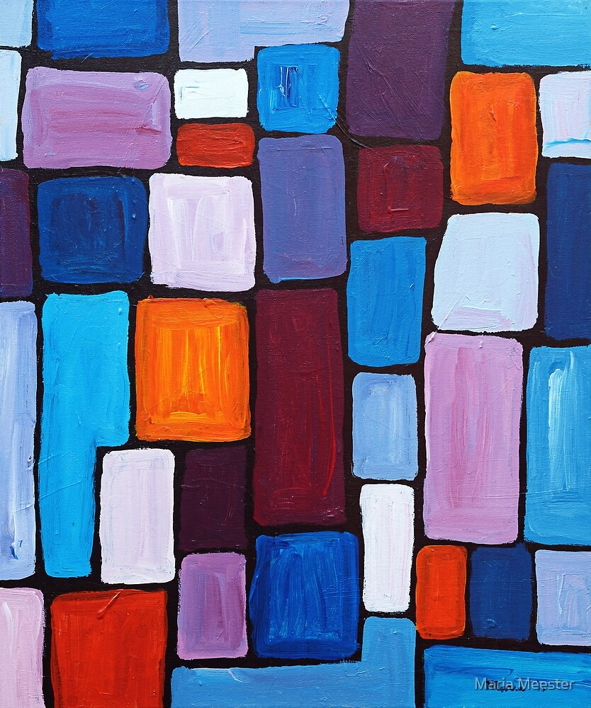 Composition | Abstract Painting by Maria Meester