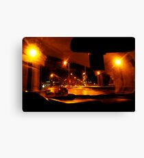 The Dirt and The Grind Canvas Print