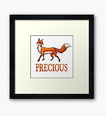 Precious Fox Framed Print