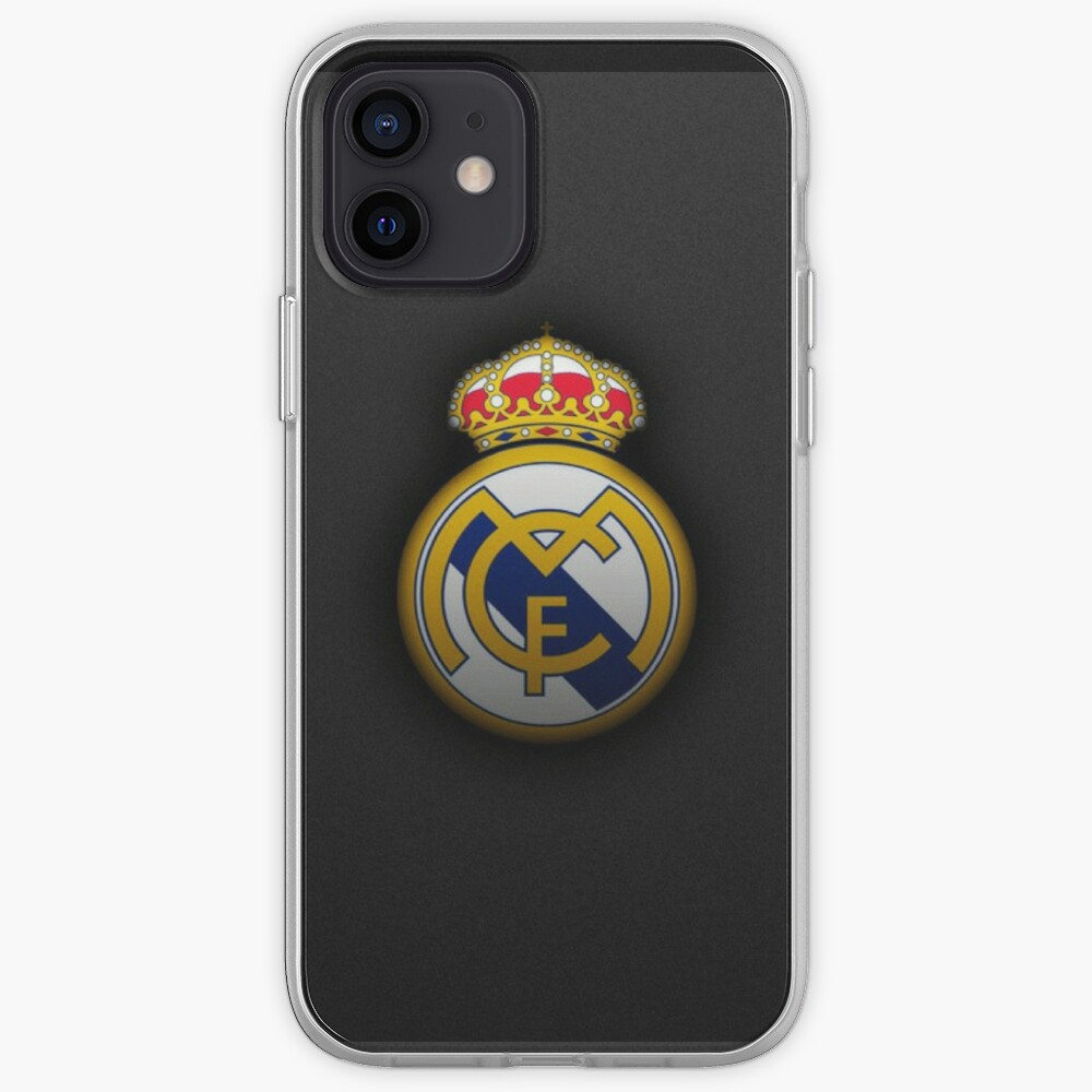 Real Madrid Logo Iphone Case Cover By Evo07 Redbubble