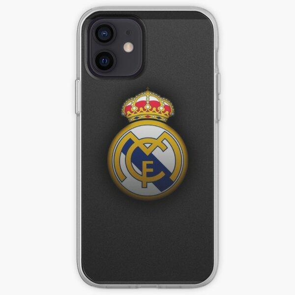Logotipo del Real Madrid Funda blanda para iPhone
