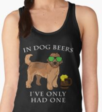 Goldendoodle Ive Only Had One In Dog Beers Year of the Dog Irish St Patrick Day Women's Tank Top