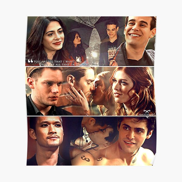 Clace Malec Sizzy Poster