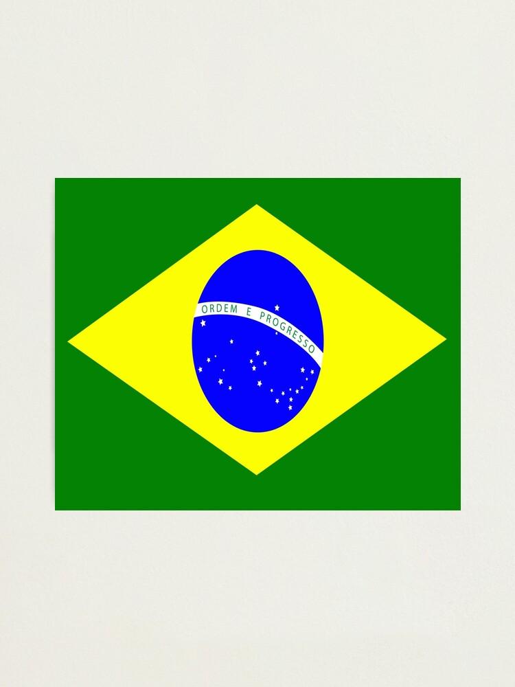 Brazil Flag Wall Clock//Brazilian Flag//Brail Wall Clock.Great Gift.Silver Frame