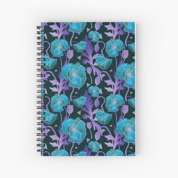 wild blue Spiral Notebook