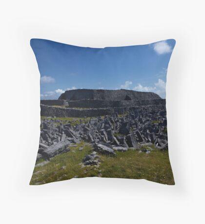 Dun  Aengus Fort, Inishmore, Aran Islands   Throw Pillow