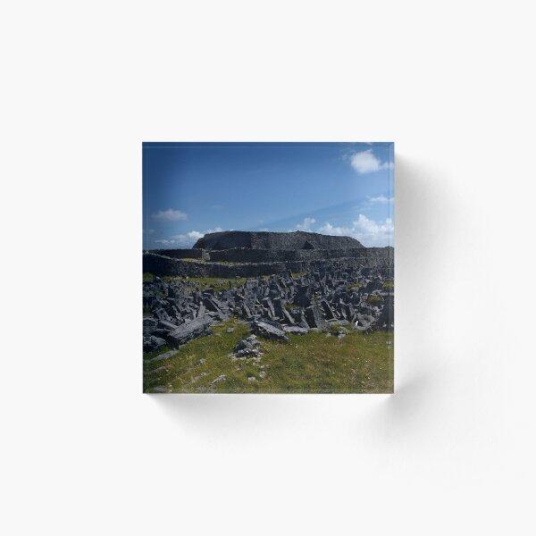 Dun  Aengus Fort, Inishmore, Aran Islands   Acrylic Block