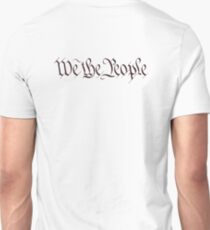America, American, We the People, United States Constitution, Congress, Pure & Simple Unisex T-Shirt