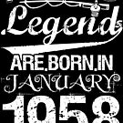 Fishing Legends Are Born In January 1958 by wantneedlove