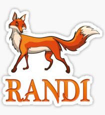 Randi Fox Sticker