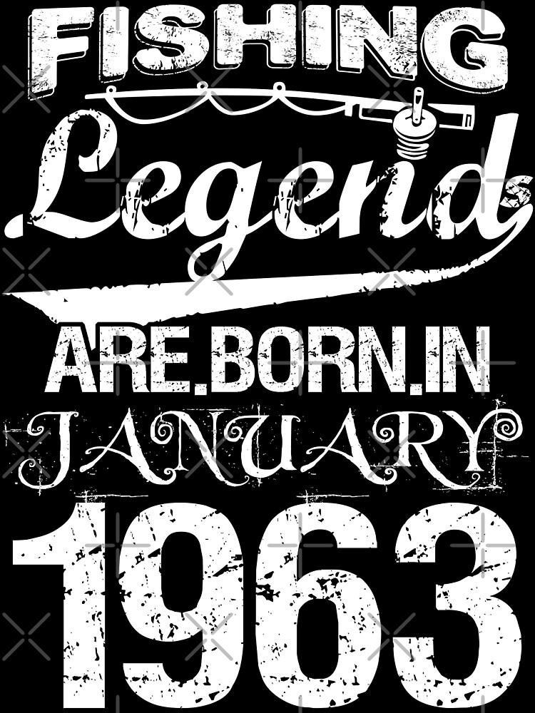 Fishing Legends Are Born In January 1963 by wantneedlove