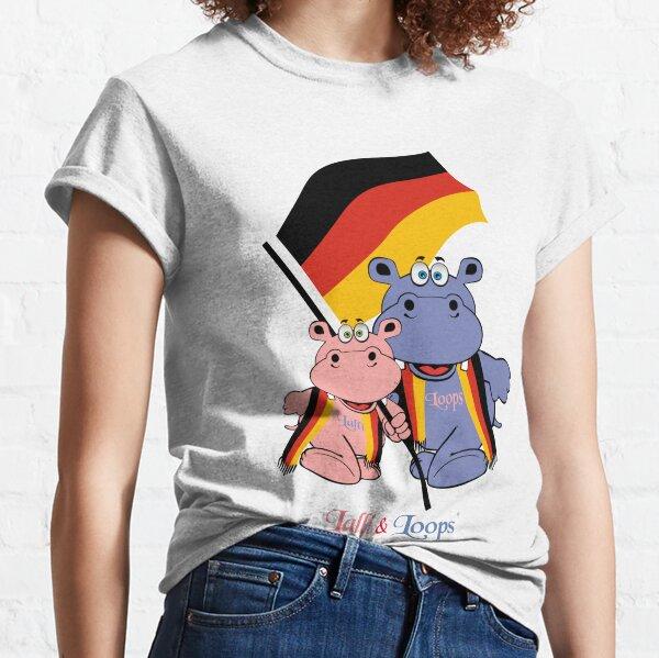 Hippos Nilpferde Lalli und Loops Germany Deutschland Classic T-Shirt