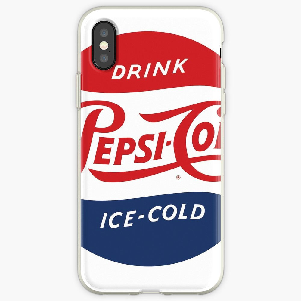 Vintage Pepsi Logo iPhone-Hülle & Cover