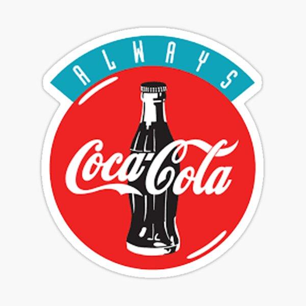 Vintage Retro Coca Cola Logo Sticker