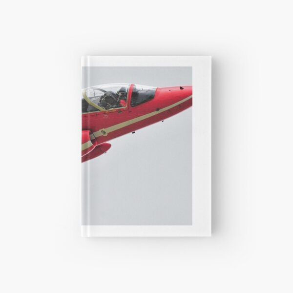 RAF Red Arrows close up shot Hardcover Journal