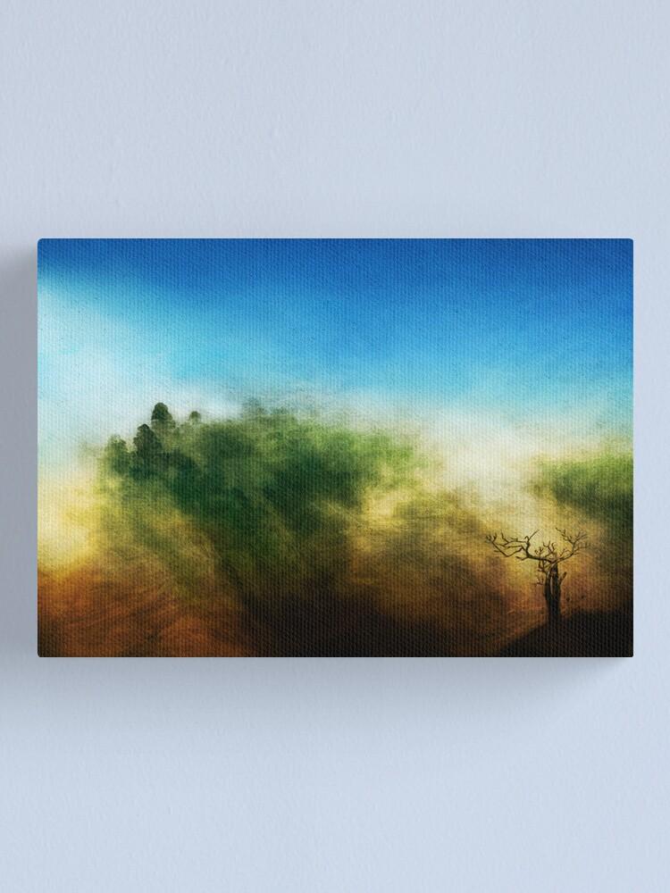 Alternate view of Rainbow Mountain Canvas Print