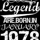 Fishing Legends Are Born In January 1978 by wantneedlove