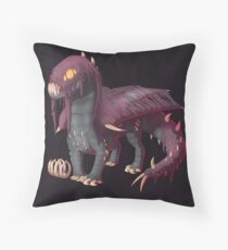 Monster Hunter - Vaal Hazak Chibi Throw Pillow