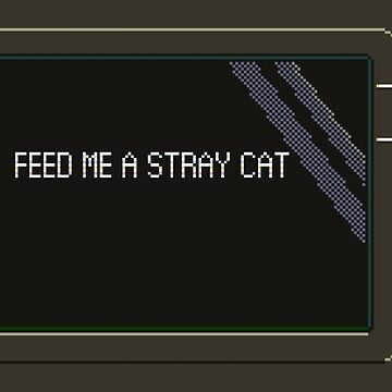 Feed me a stray cat ATM by Rilly579