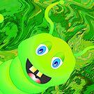 Happy-Caterpillar by Orla Cahill