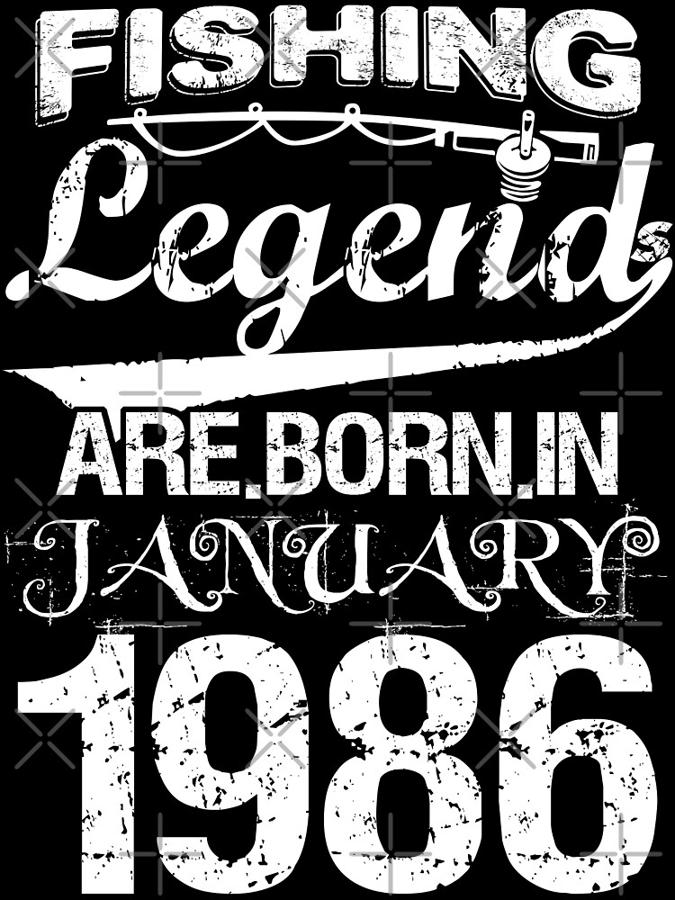 Fishing Legends Are Born In January 1986 by wantneedlove