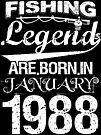 Fishing Legends Are Born In January 1988 by wantneedlove