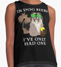 Havenese Ive Only Had One In Dog Beers Year of the Dog Irish St Patrick Day Contrast Tank