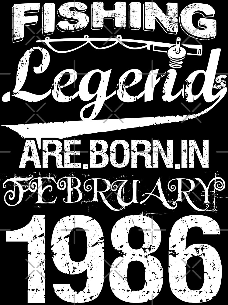 Fishing Legends Are Born In February 1986 by wantneedlove