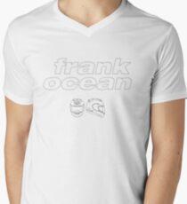 Frank Ocean Helm T-Shirt mit V-Ausschnitt