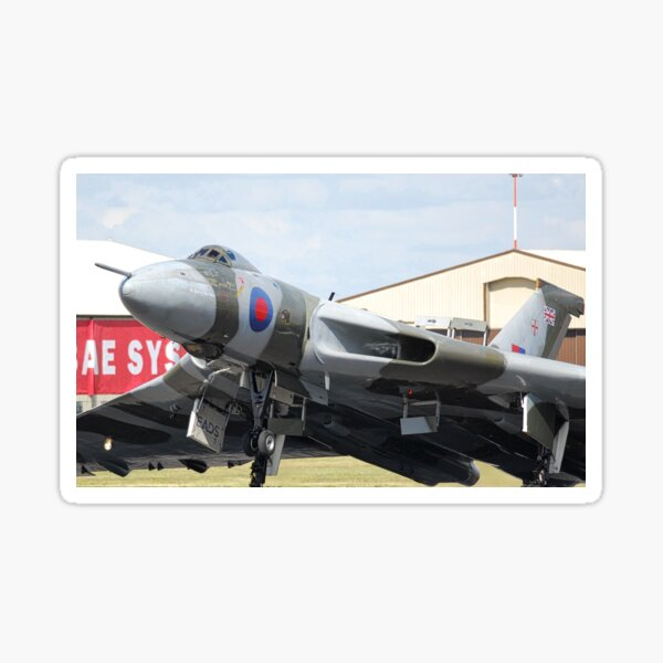 The mighty Avro Vulcan Sticker