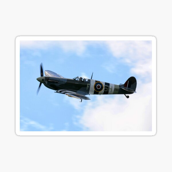 Supermarine Spitfire Sticker