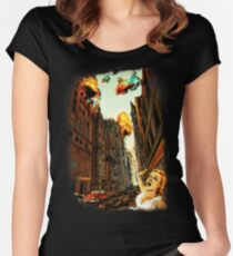 INVADERS! Women's Fitted Scoop T-Shirt