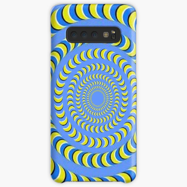 Optical illusion, visual phenomena, structure, framework, pattern, composition, frame, texture Samsung Galaxy Snap Case