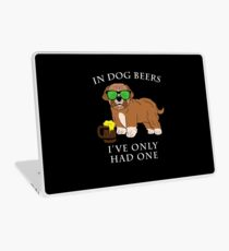 Maltipoo Ive Only Had One In Dog Beers Year of the Dog Irish St Patrick Day Laptop Skin