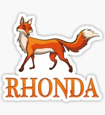 Rhonda Fox Sticker