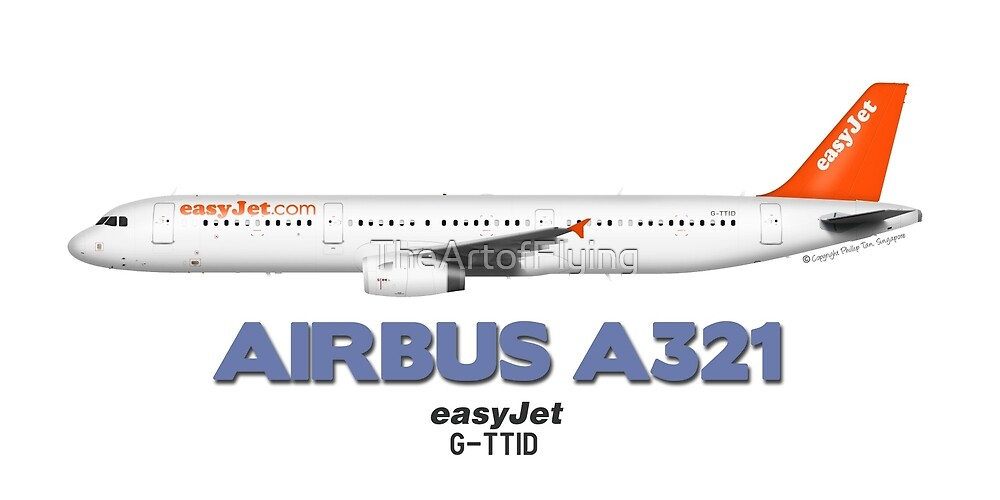 Airbus A321 - easyJet by TheArtofFlying