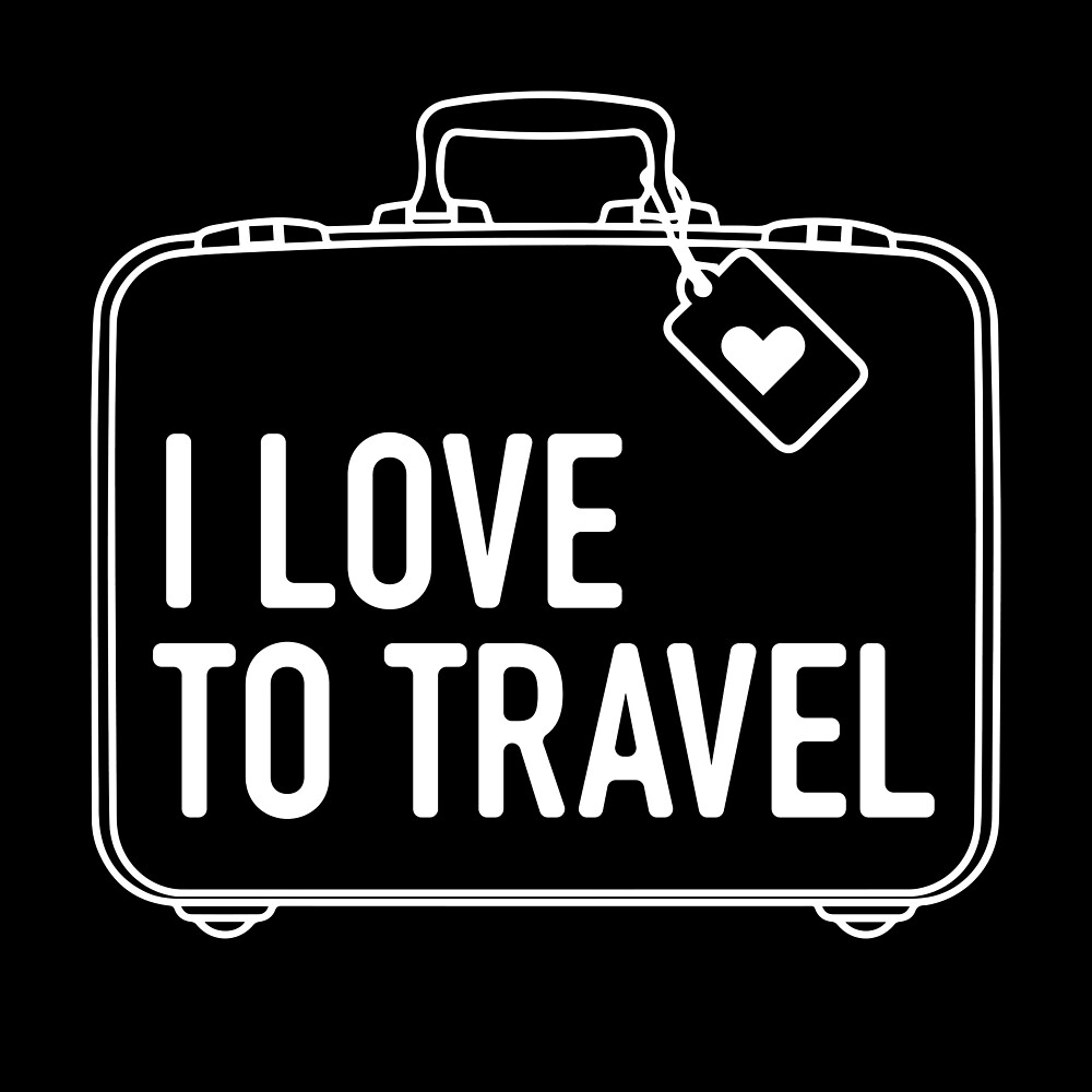 I Love To Travel  by homedecorquotes