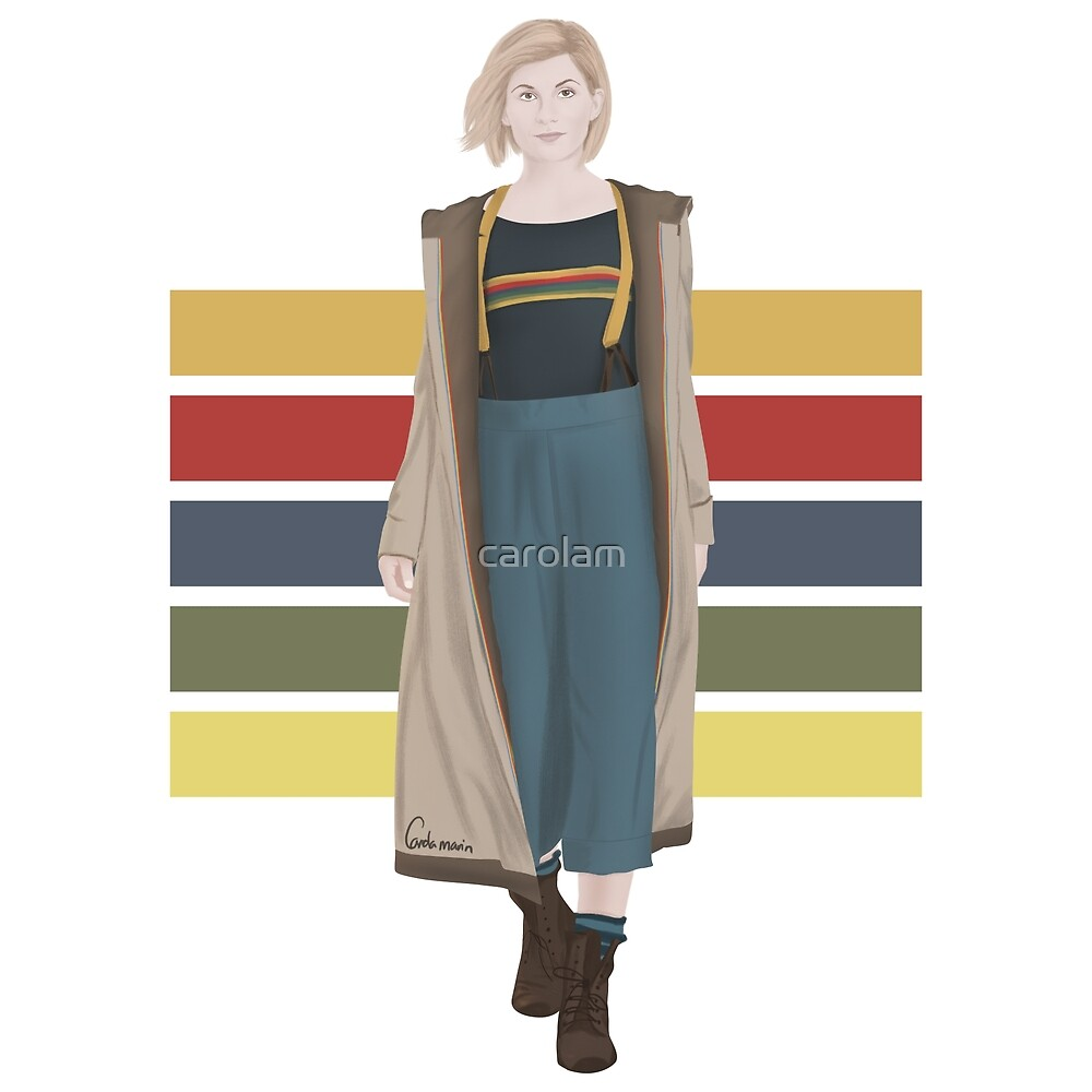 Doctor Who   13th Doctor by carolam
