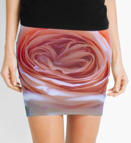 Soft Romantic Rose Mini Skirt