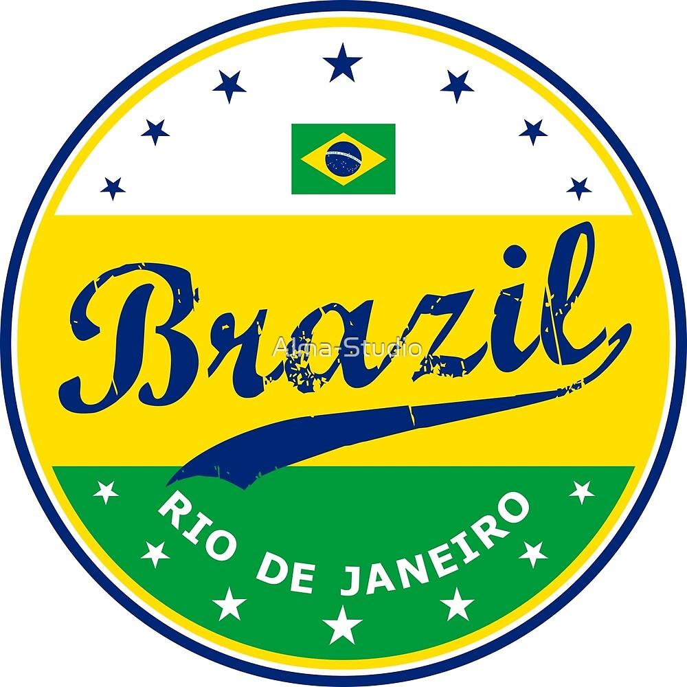 Brazil, circle, Rio de Janeiro by Alma-Studio