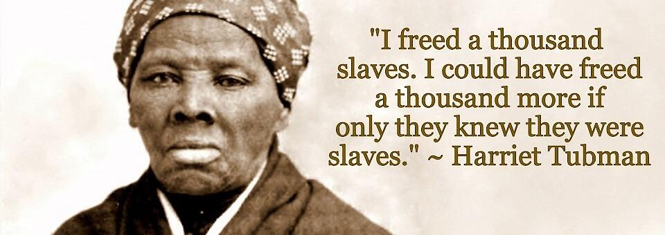 Harriet Tubman by Nancy Jewell