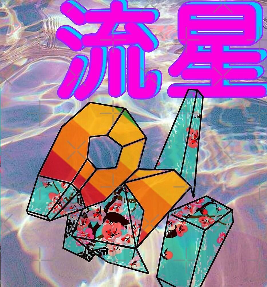 Porygon Vaporwave Aesthetic  by RMorra