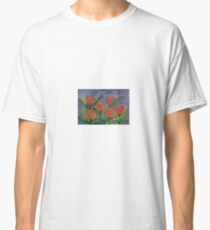 Tulips so Bold,   watercolor,  by Penny Gutman Classic T-Shirt