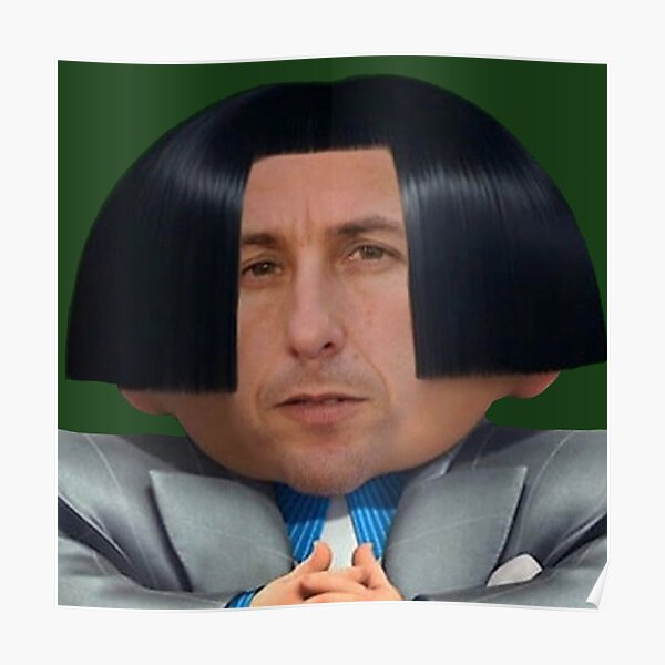 Adam Sandler In The Lorax Meme Poster By Redmemes Redbubble