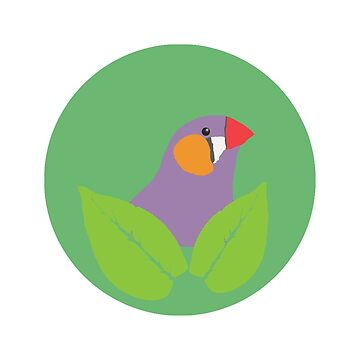 Bird in leafes by BasicDesignsDK