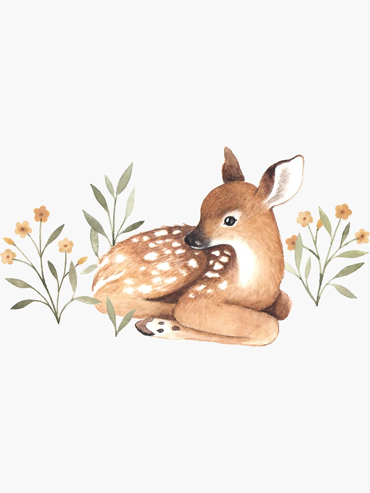 Meadow and Fawn by NinaStajner