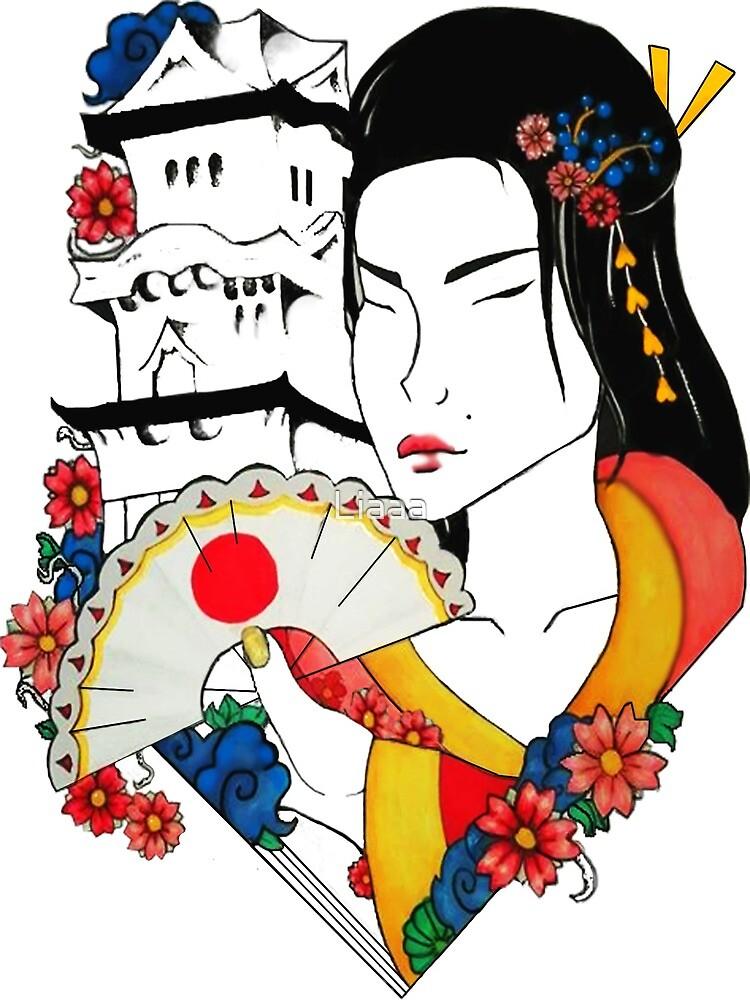 Floral Geisha by Liaaa