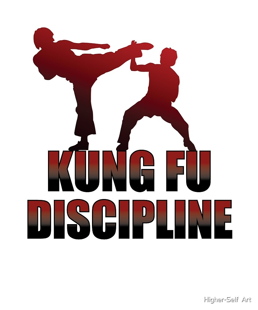 Kung Fu Discipline tshirt cute martial arts gift by Higher-Self  Art